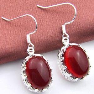 Jewelry - Garnet Earrings